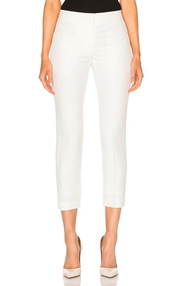 Alexander McQueen Trousers in Ivory