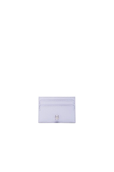 Alexander McQueen Card Holder in Claud Blue
