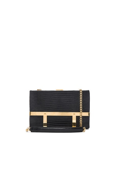 Alexander McQueen Chain Strap Bag in Black