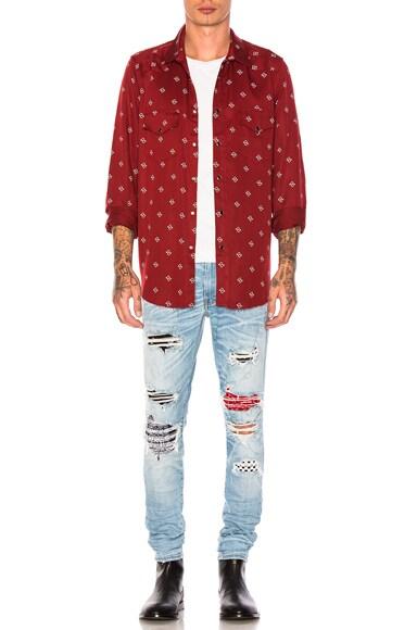 Art Patch Jeans