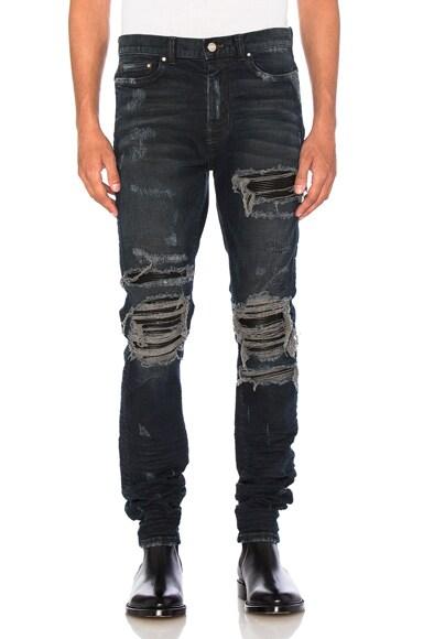 Amiri MX1 Jean in Dark Indigo