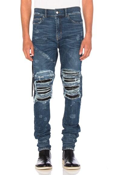 Amiri MX2 Jean in Medium Indigo