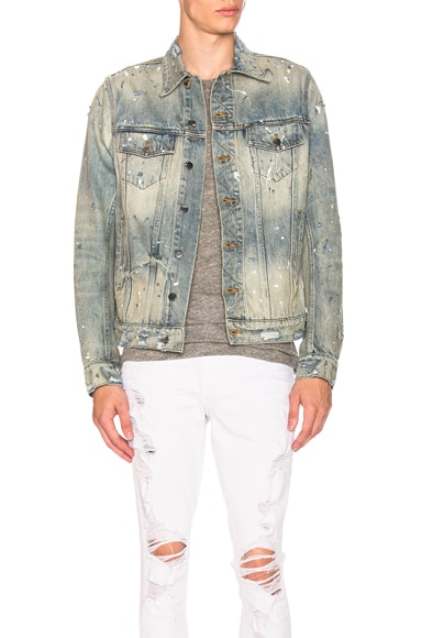 Painter Trucker Jacket Amiri