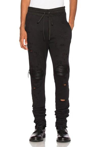 Amiri MX1 Sweats in Black