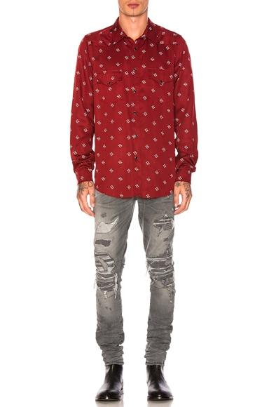 Western Paisley Shirt