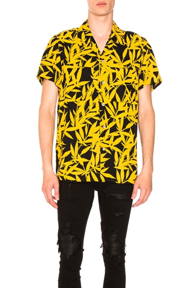 Leaf Tencel Shirt