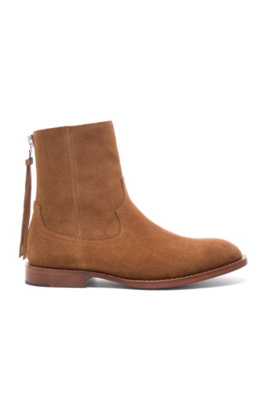 Suede Shane Boots