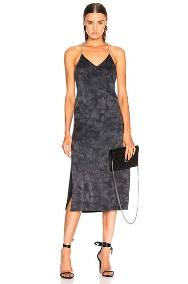 T Back V Calf Dress