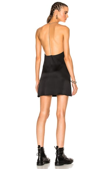 T Back V Neck Dress