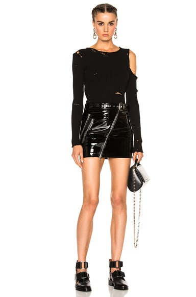Moto Skirt