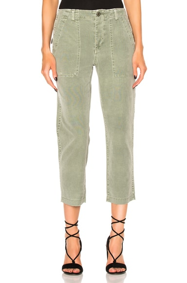 Army Babe Cropped Straight