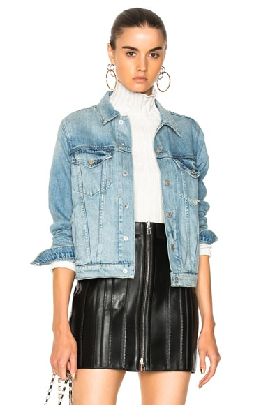 Pop Destroyed Denim Jacket