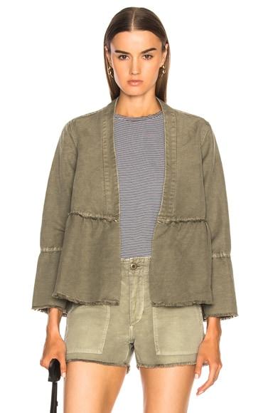 Flounce Jacket