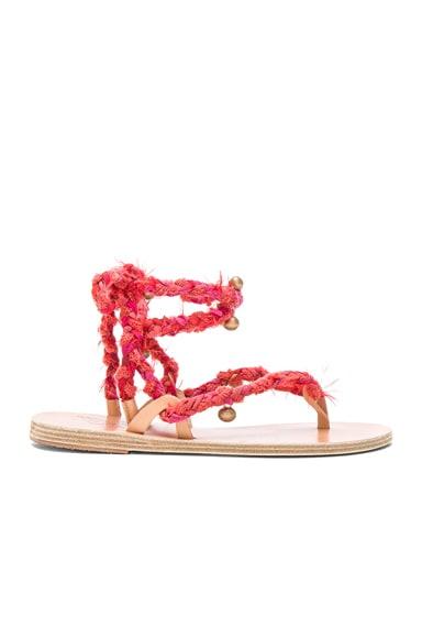 Ancient Greek Sandals Atropos Sandals in Fuchsia