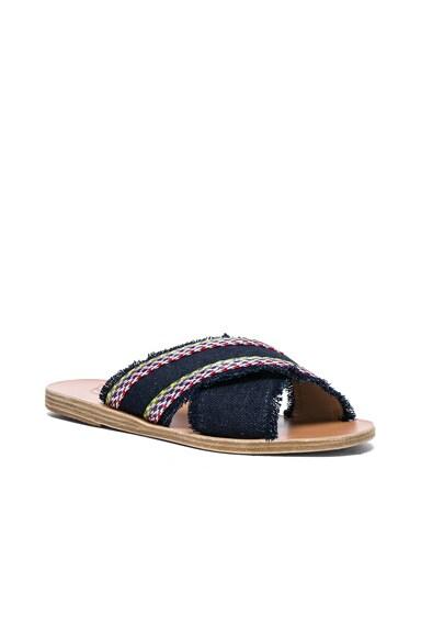 Raffia Thais Sandals