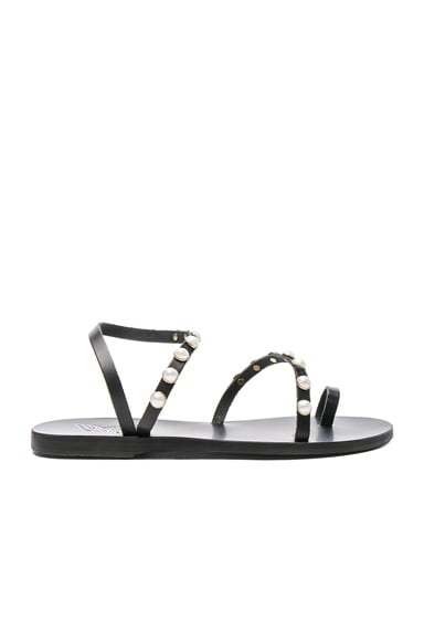 Apli Leather Elefthera Pearls Sandals