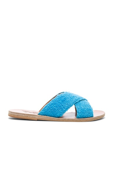Terry Cloth Thais Sandals