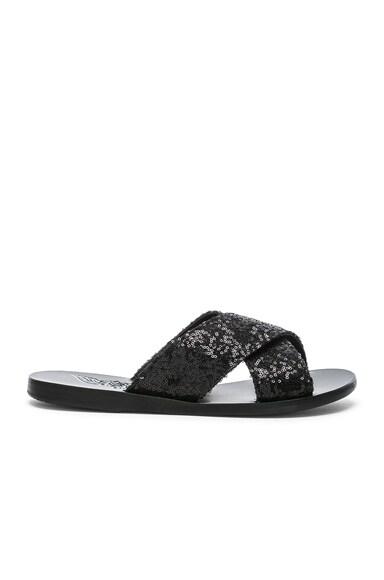 Sequin Thais Sandals