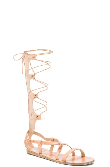 Sofia High Leather Sandals