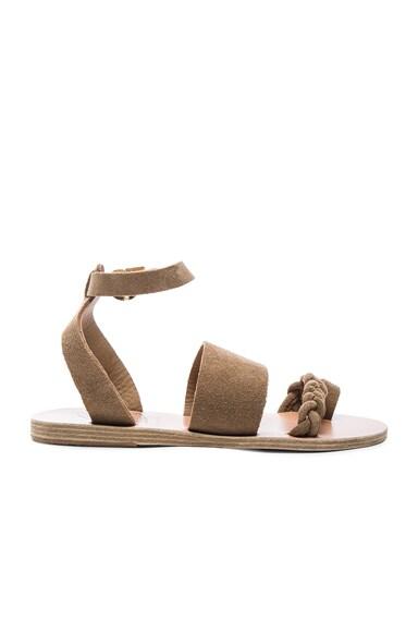Suede Agni Sandals
