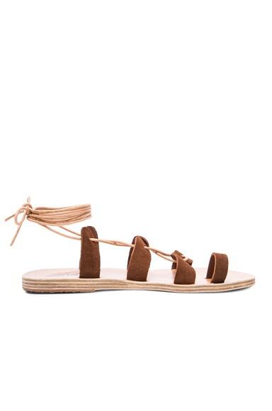 Suede Alcyone Sandals
