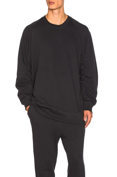 Ann Demeulemeester Sweatshirt in Off Black