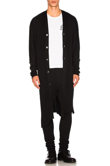 Ann Demeulemeester Cardigan in Black