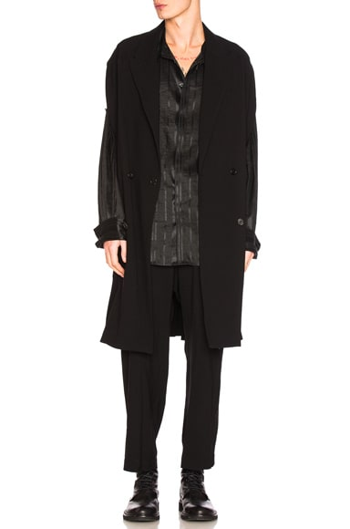 Ann Demeulemeester Cape in Black
