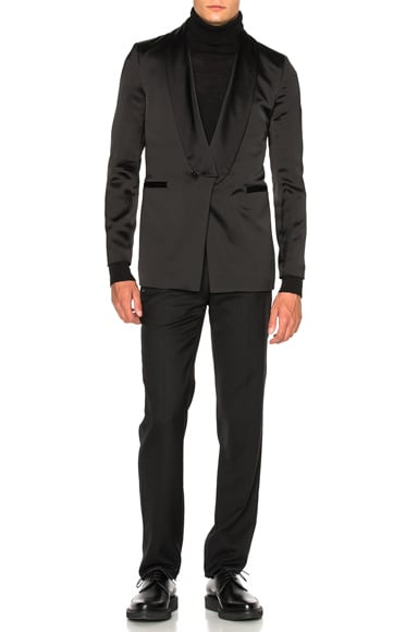 Shawl Collar Evening Jacket
