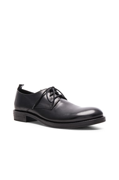 Ann Demeulemeester Leather Dress Shoes in Black