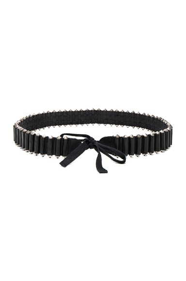 Ann Demeulemeester Belt in Black