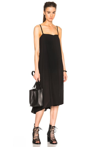 Ann Demeulemeester Tank Dress in Black