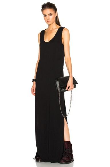 Ann Demeulemeester Maxi Dress in Black