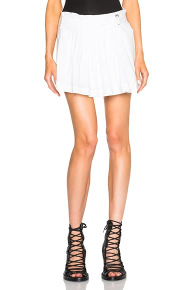 Ann Demeulemeester Joan Shorts in Off White