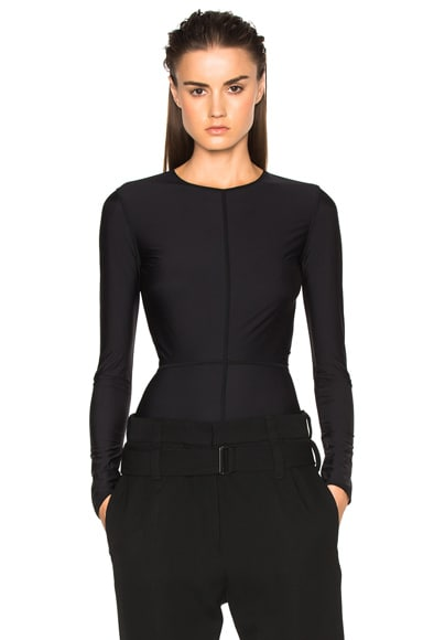 Ann Demeulemeester Bodysuit in Black