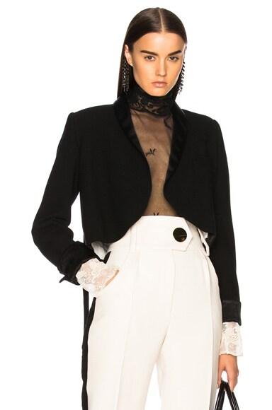 Wrap Belted Blazer