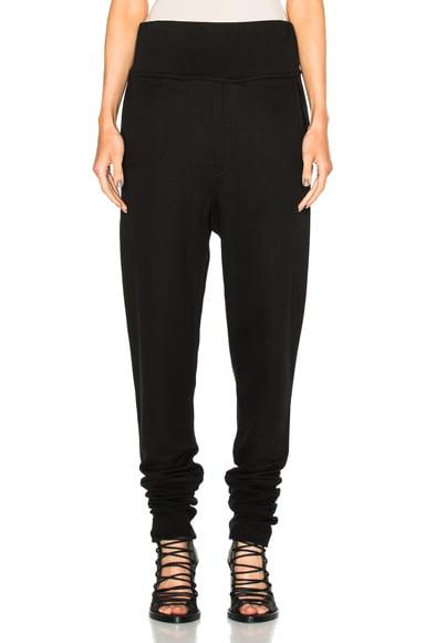 Ann Demeulemeester Sweatpants in Black