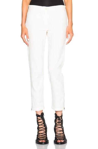 Ann Demeulemeester Trousers in Brisk Cream