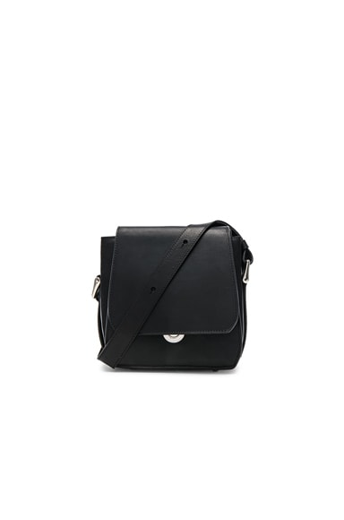 Ann Demeulemeester Leather Bag in Black