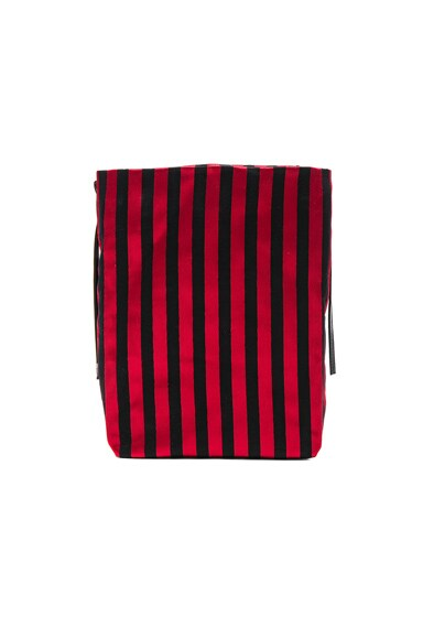 Striped Satchel