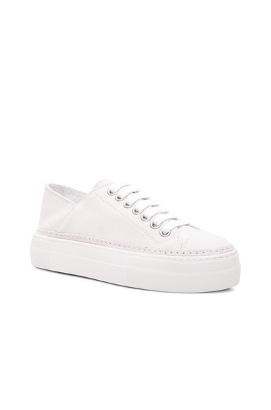 Suede Low Top Sneakers