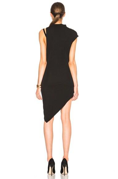 One Side Strap Sleeveless Dress