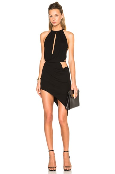 Sleeveless Front Top Opening Dress