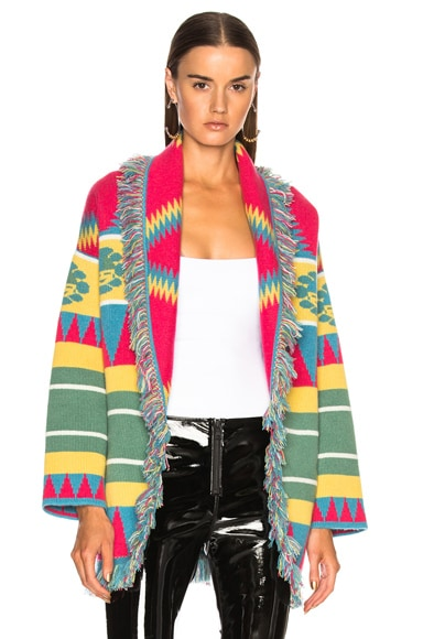 New Icon Oversized Jacquard Cardigan