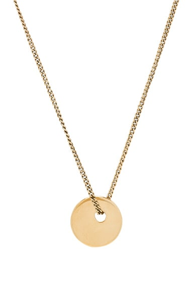 A.P.C. Serge Necklace in Gold