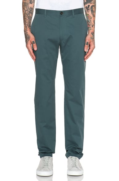 A.P.C. Classique Chinos in Blue
