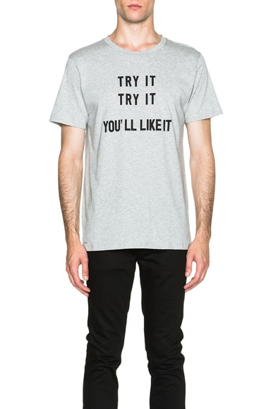 A.P.C. Try It Tee in Grey