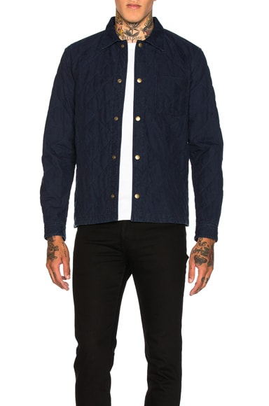 A.P.C. Cole Shirt in Indigo