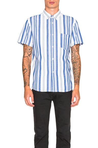 A.P.C. Bryan Shirt in Blue