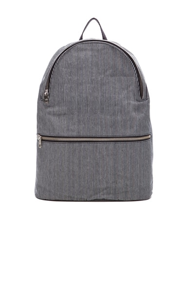 A.P.C. William Backpack in Dark Navy